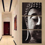 Buddha Canvas 3 pieces Kit :: Option 2