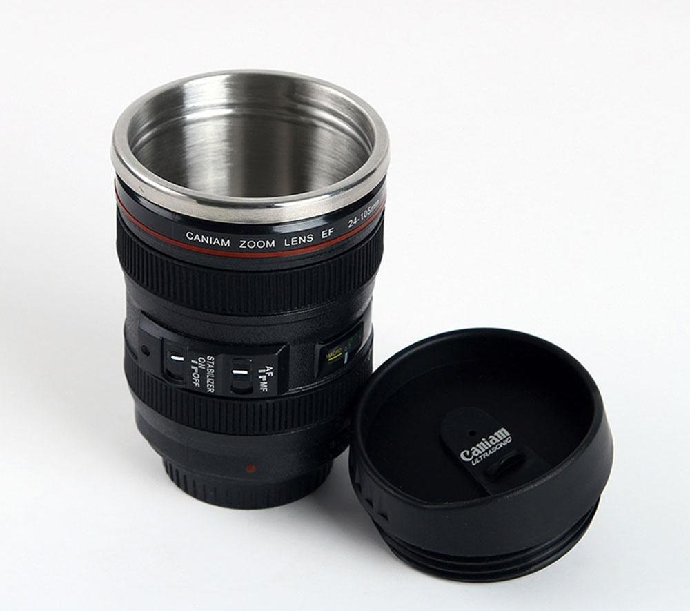 SLR Camera Lenses Coffee Mug