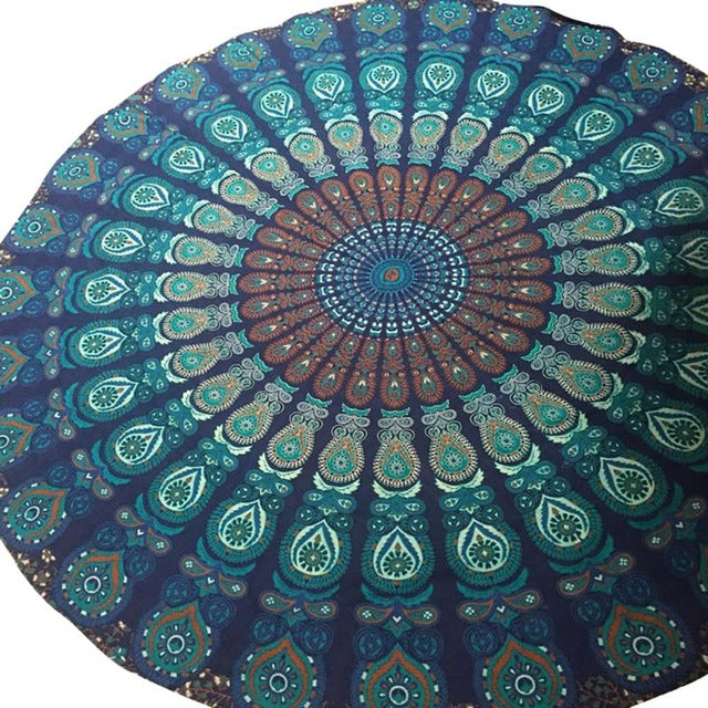 Mandala Beach Towels
