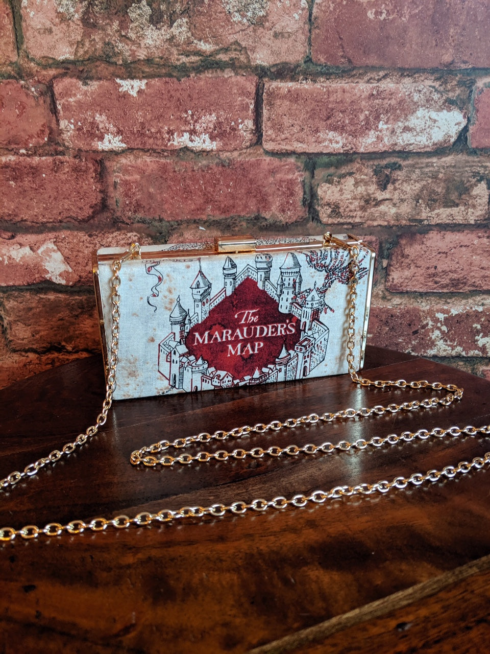 Harry Potter Marauders Map Clutch