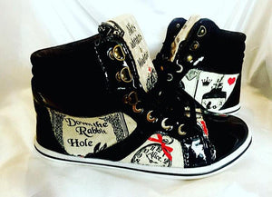 Alice In Wonderland High Tops