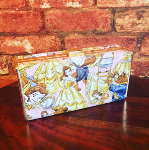 Beauty and the Beast Clutch Bag