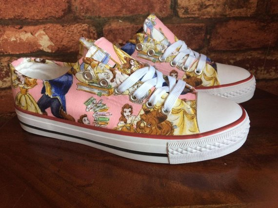 Disney Beauty and the Beast shoes