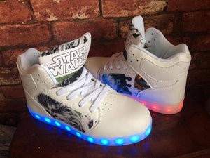 Light Up High Top Trainers