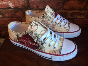 Harry Potter Marauders Map Shoes