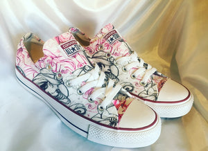 Disney Princess Inspired Converse