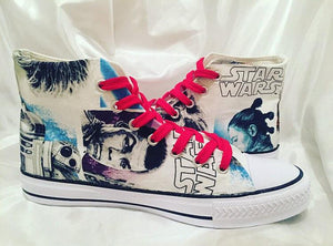 Star Wars High Top Trainers