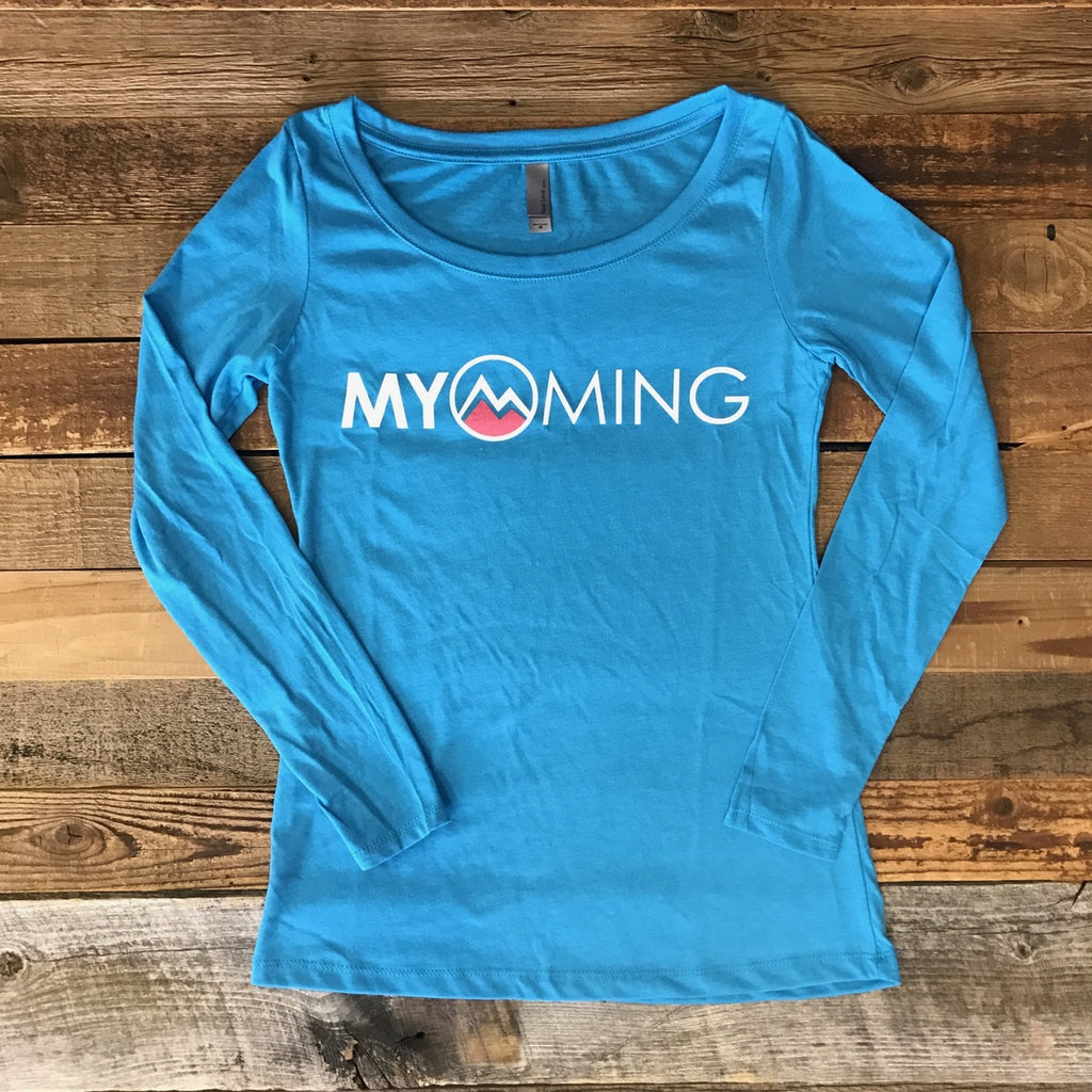 Women's Myoming Long Sleeve- Vintage Blue