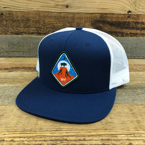 Devils Tower Patch Hat | Navy/White