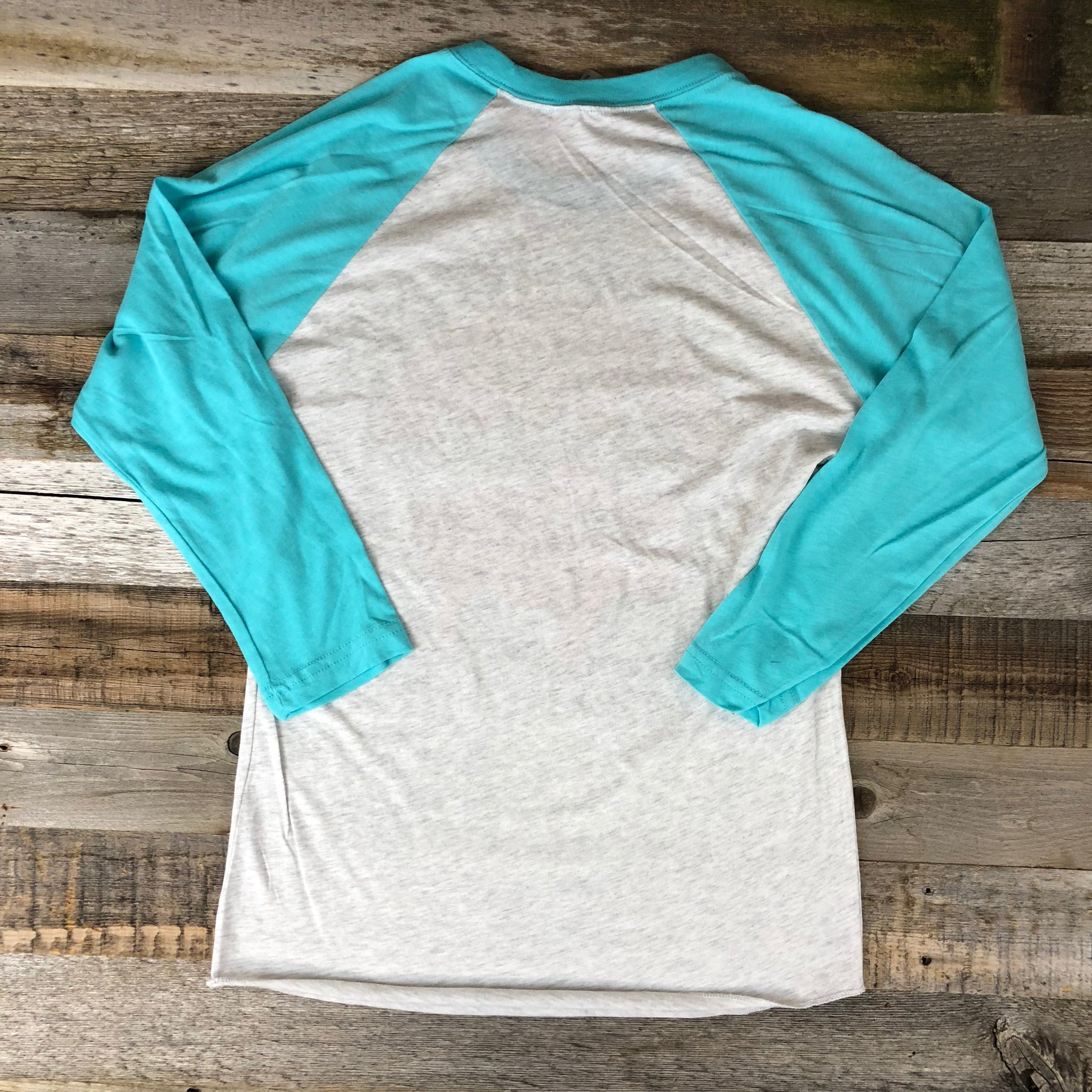 Bison Moon Mama Bear Baseball Tee | WyoMade Apparel | Women's