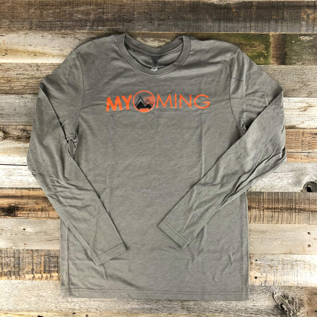 Men's Myoming Hunting Long Sleeve- Venetian Grey