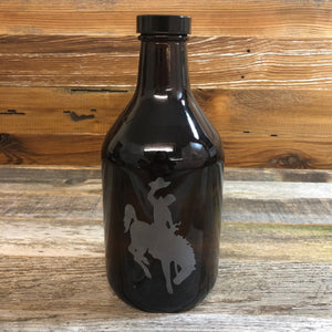 WYO Etched Steamboat Growler- 32oz