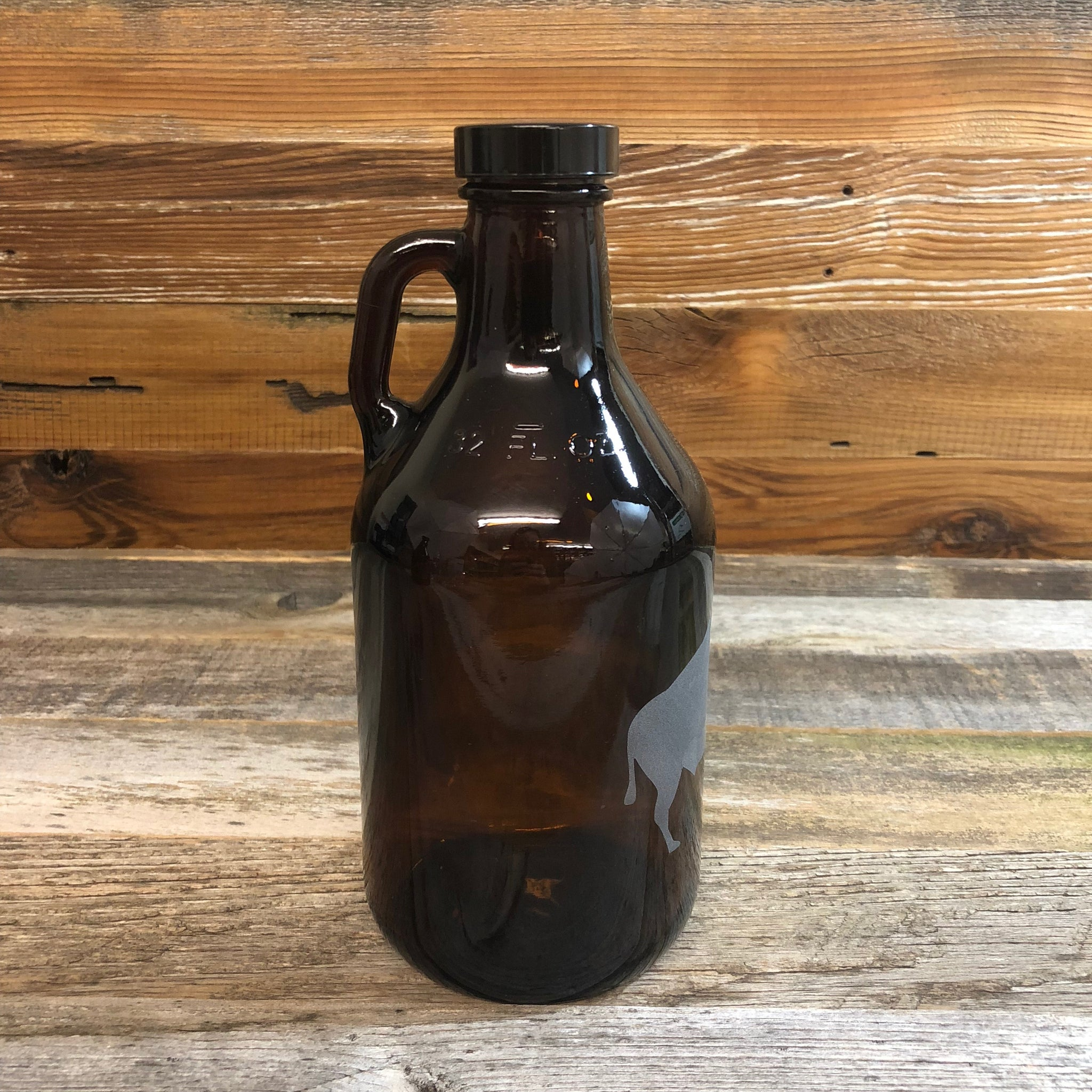 WYO Etched Buffalo Growler- 32oz
