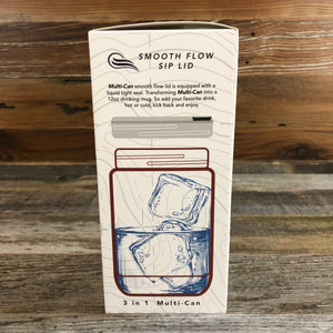 Wyoming Multi-Can | 12 oz | White