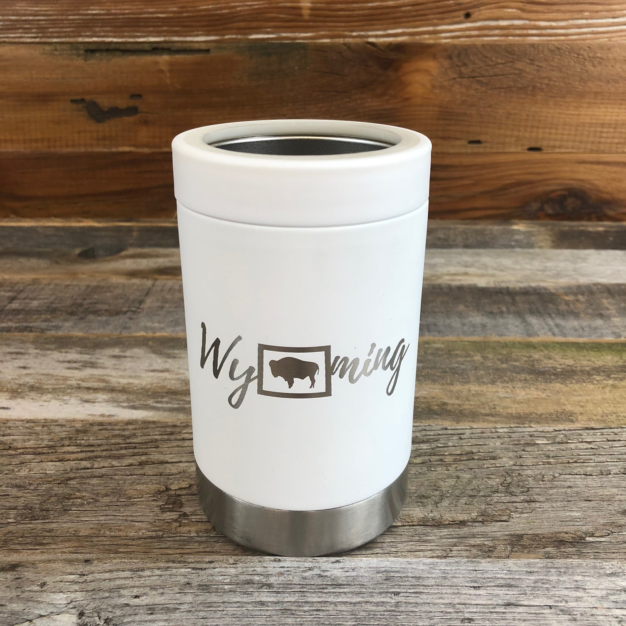 Wyoming Multi-Can 12oz- White