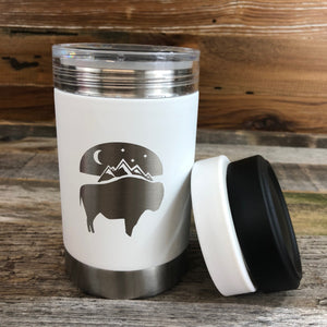 Bison Moon Multi-Can | 12 oz | White