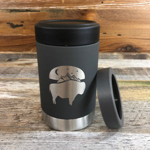 Bison Moon Multi-Can | 12 oz | Charcoal