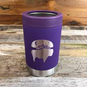 WyoMade |  Bison Moon Multi-Can 12oz | Purple