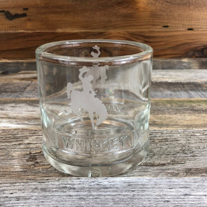 Wyoming Whiskey Glass- Steamboat