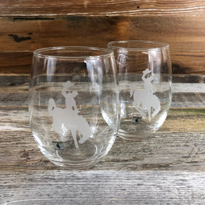WYO Stemless Wine Glass- Steamboat