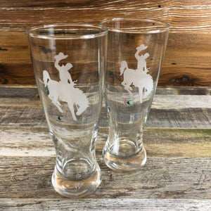 WYO Steamboat Pilsner Glasses