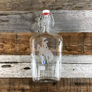 WYO Steamboat Glass Flask