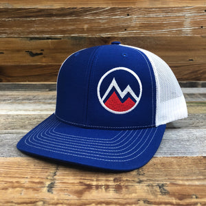 MYOMING Mountain Side Trucker | WyoMade Apparel | Hats