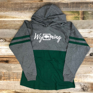 Wyoming Bison Hooded Long Sleeve | WyoMade Apparel | Women's