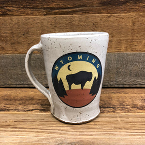 Backwoods Bison Coffee Mug | WyoMade Accessories | Ceramic