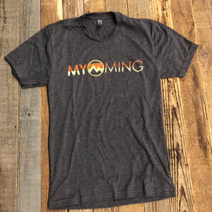 Men's Myoming Sunset- Espresso