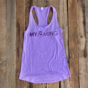 Women's Myoming Tank-Purple