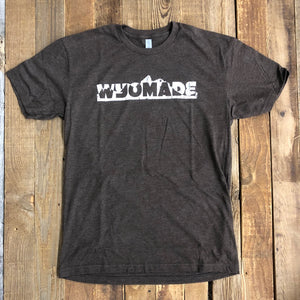 Men's WyoMade Teton Tee- Brown