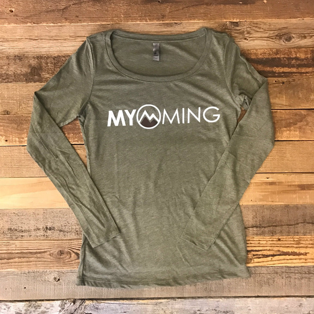 Women's Myoming Long Sleeve - Military Green