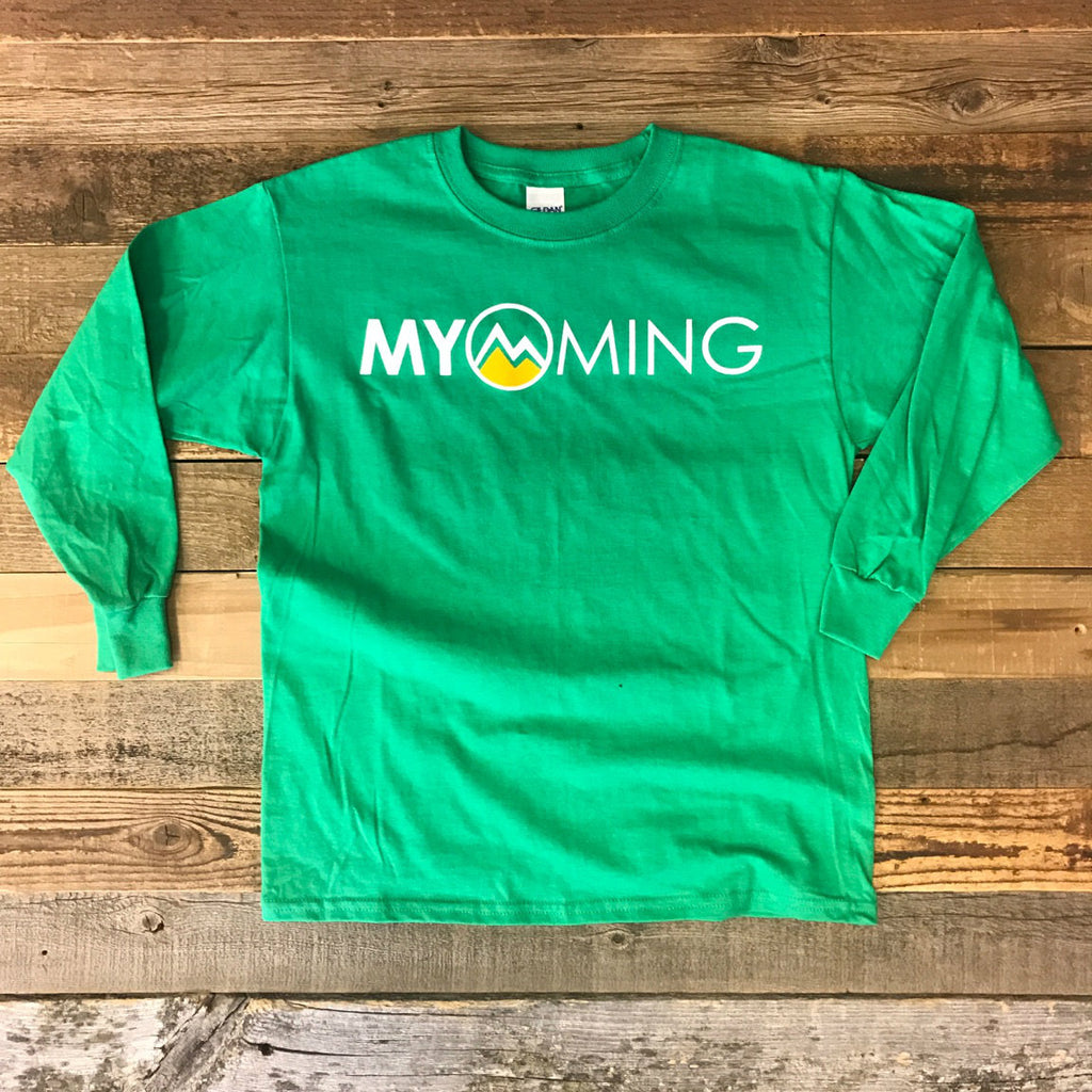 Youth Myoming Long Sleeve- Green