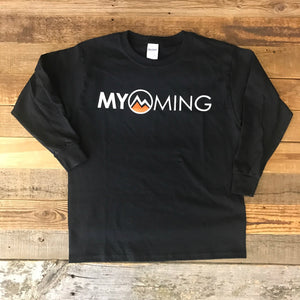 Youth Myoming Long Sleeve- Black