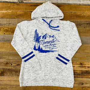 Moments Scuba Neck Hoodie | WyoMade Apparel | Women's