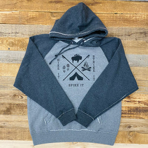 Strike It Vintage Pullover Hoodie | WyoMade Apparel | Unisex