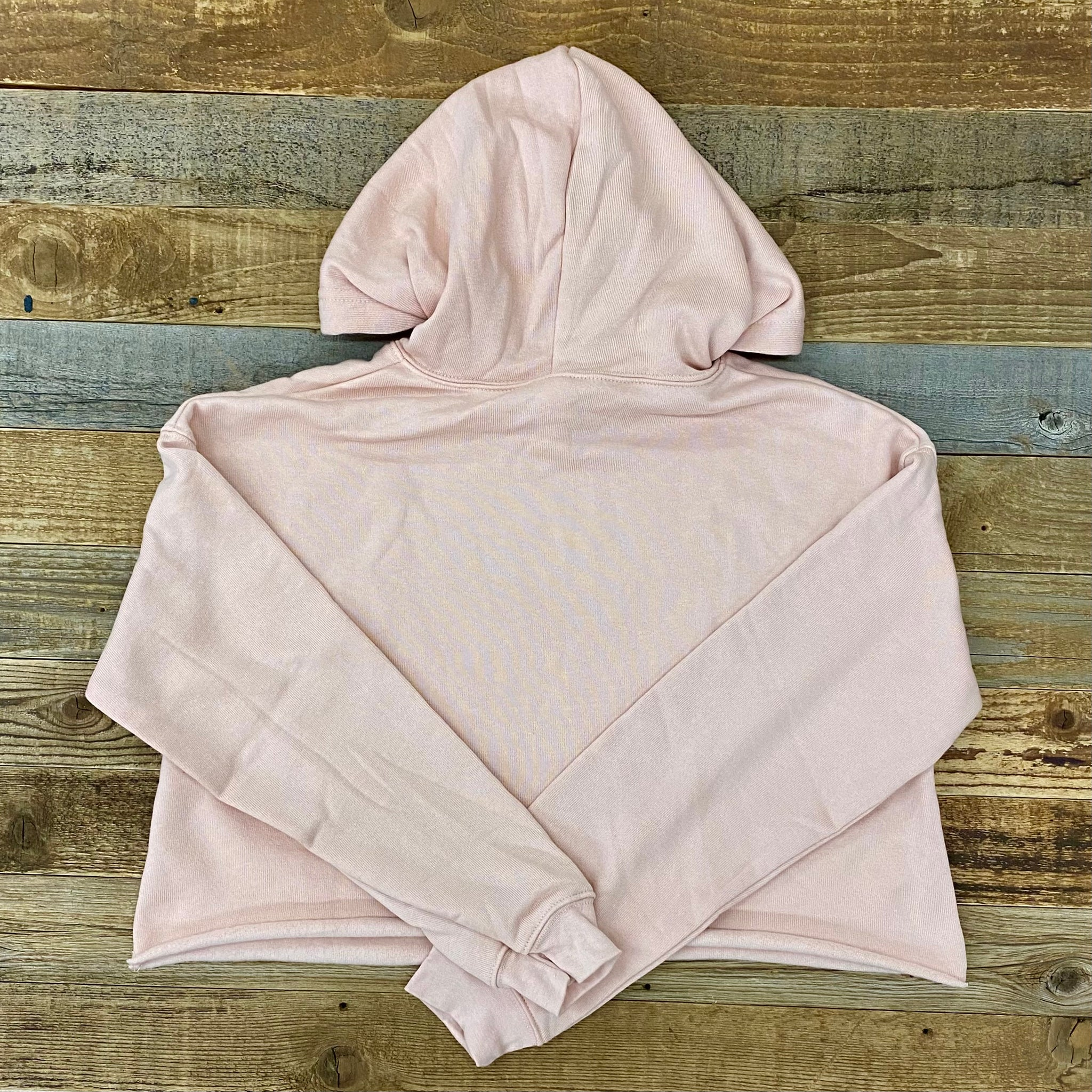 Moments Cropped Hoodie | WyoMade Apparel | Women's