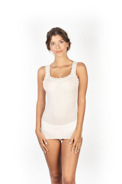EGI 1491 Winter White Camisole