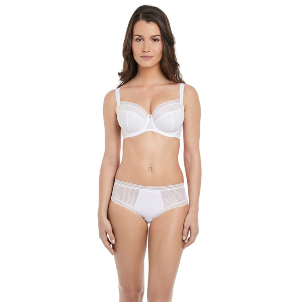 Fantasie Fusion Side Support Full Cup White Bra