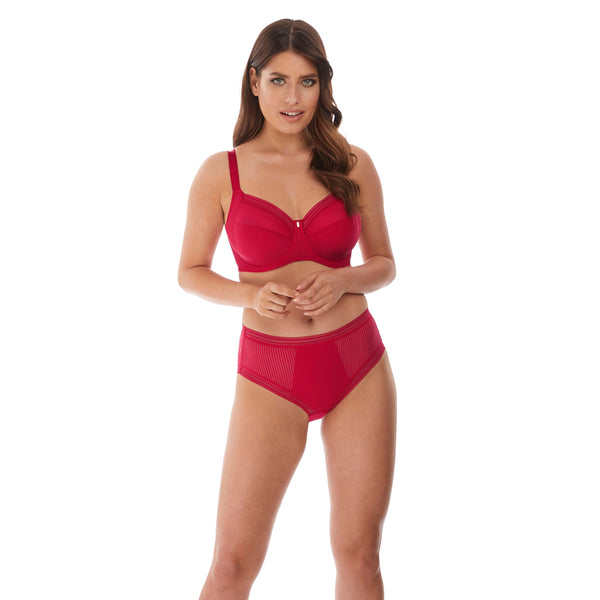 Fantasie Fusion Side Support Red Bra