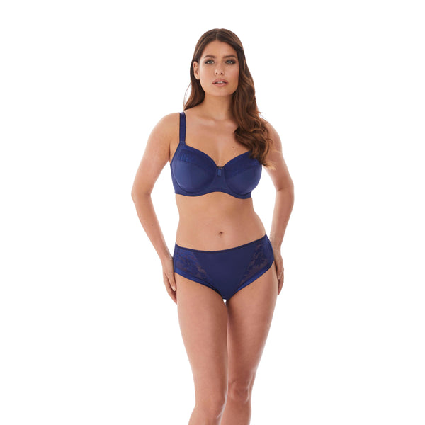 Fantasie Illusion Side Support Navy Bra