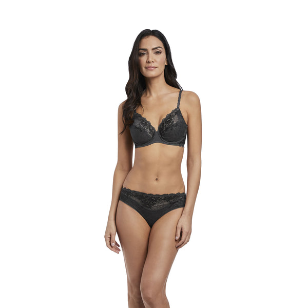 Wacoal Lace Perfection Charcoal Brief