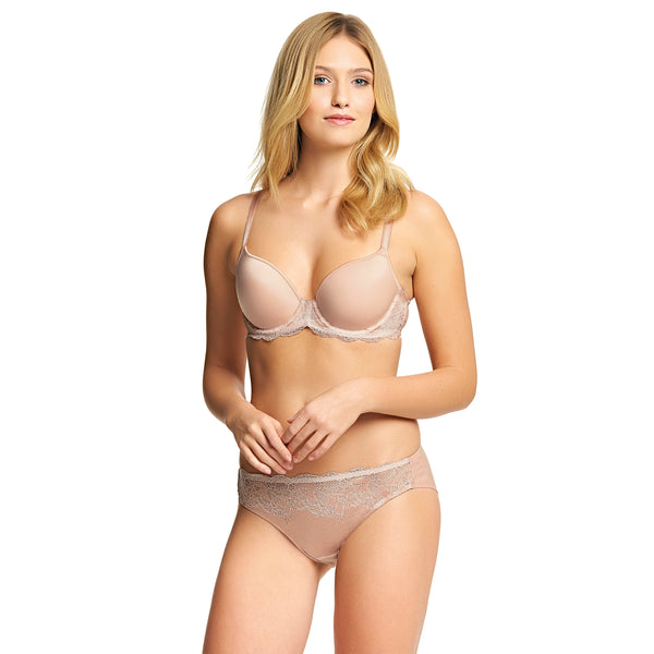Wacoal Lace Affair Rose Dust Brief
