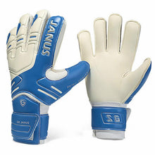 Load image into Gallery viewer, JANUS Brand Professional Goalkeeper Gloves Finger Protection Thickened Latex Soccer Football Goalie Gloves Goal keeper Gloves