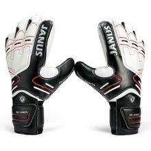 Load image into Gallery viewer, Professional Goalkeeper Gloves with Finger Protection Thickened Latex