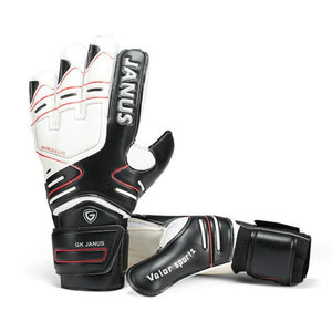Professional Goalkeeper Gloves with Finger Protection Thickened Latex