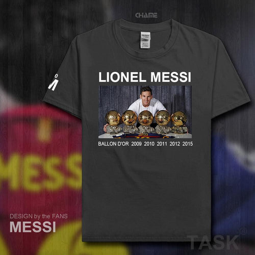 Ballon d'Or Barcelona Lionel Messi T-shirt