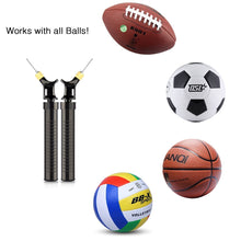 Load image into Gallery viewer, New Creative Soccer Ball Inflator Pump Ultimate Quicker Pump for Basketball Football Pump Volleyball - Black