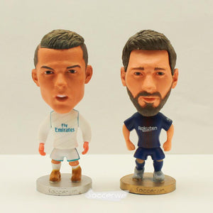 "RONALDO & MESSI World Class Soccer Player 2.5"" Action Figurines - FREE SHIPPING!"
